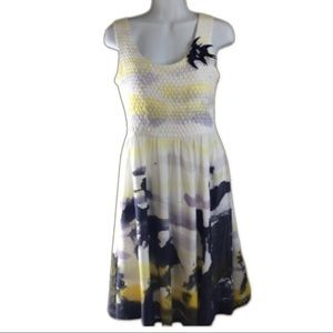 DEFENON  Water Color Dress Size 38